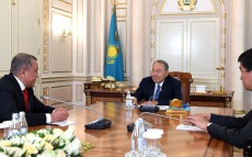 Meeting with Nurlan Smagulov, Astana Group President