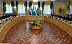 Negotiations with Shavkat Mirziyoyev, the President of Uzbekistan, in an expanded format