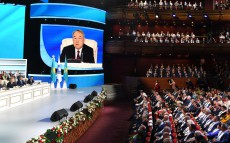 XXVII session of the Assembly of People of Kazakhstan chaired by the First President of Kazakhstan - Elbasy Nursultan Nazarbayev
