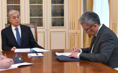 The Head of State receives Special Representative of Kazakhstan's President for Afghanistan Talgat Kaliyev