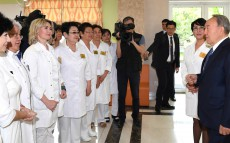 "Visit to ""Keruen Medicus"" medical centre"