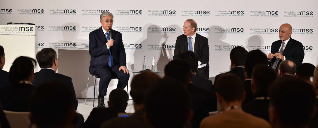 The President of Kazakhstan took part in the discussion of the situation in Central Asia at the Munich Security Conference