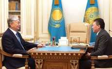 "Kassym-Jomart Tokayev received Timur Kulibayev, the Chairman of the Presidium of the National Chamber of Entrepreneurs of the Republic of Kazakhstan ""Atameken"""