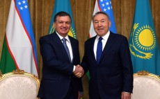 Meeting with Shavkat Mirziyoyev, President of the Republic of Uzbekistan